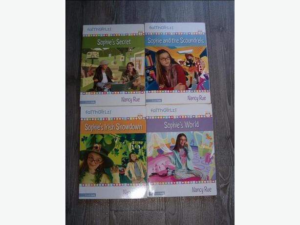 ,Sophie's secret,Faith Girlz!,zonder-kids 4 books