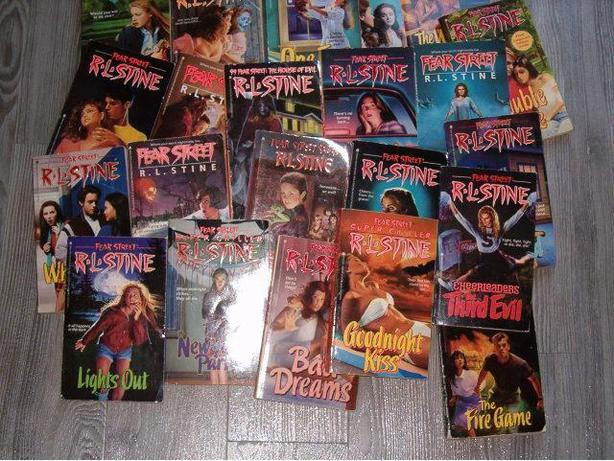 fear street RL stine 23 books