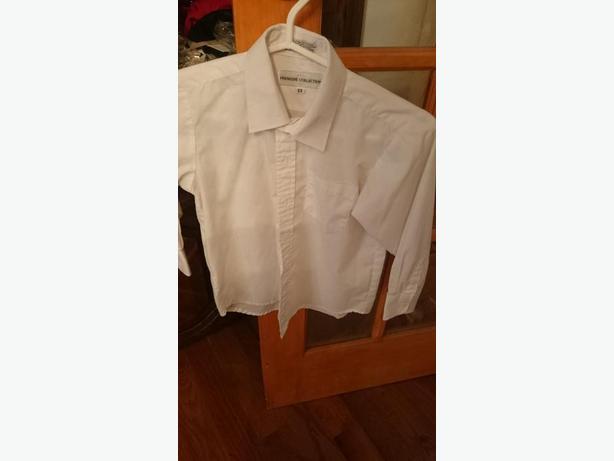 Boys White Dress Shirt size 6x
