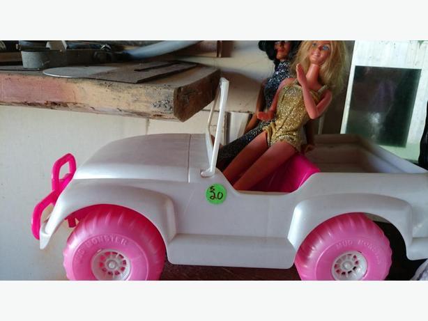 New Pink Barbie Car