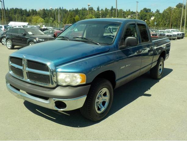 2002 Dodge Ram 1500 ST Quad Cab Long Bed 4WD