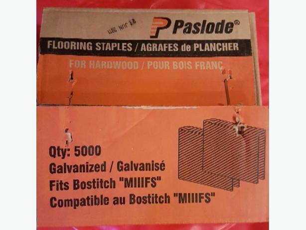 Paslode flooring staples for bostitch