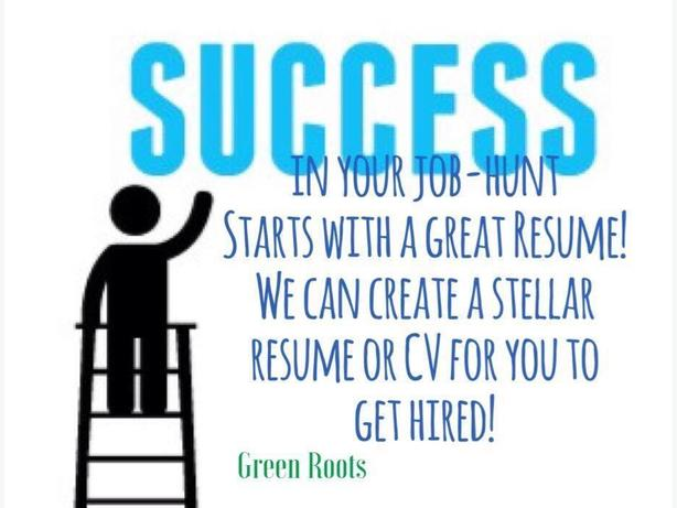Get the job you really want with a great resume or CV!
