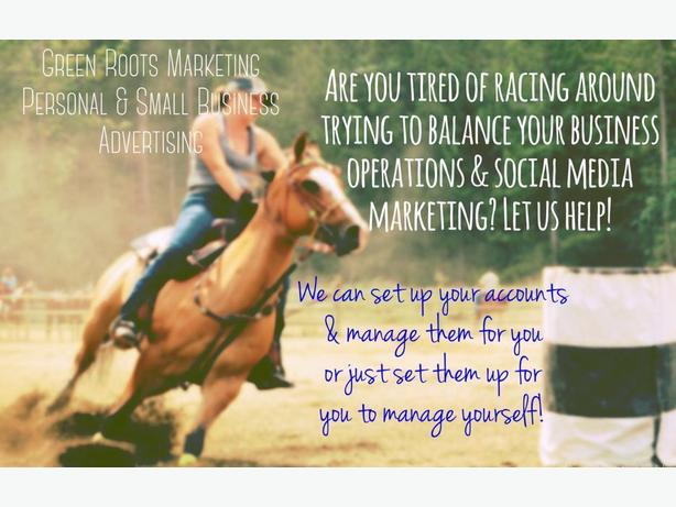 Want your small business to have a social media presence?