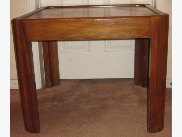 Mid-Century Modern Solid Wood Table