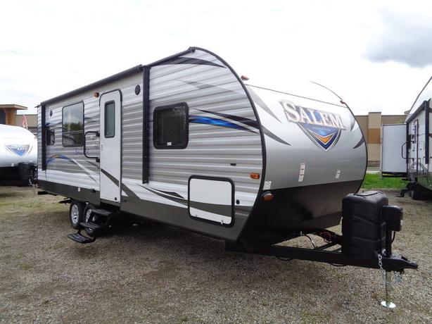 ​2018 Forest River Salem 25RKS Rear Kitchen Model