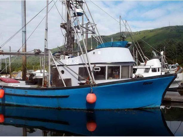 Commercial Fishing Boat - Salmon Seining, Crabbing, Longline - Viscus