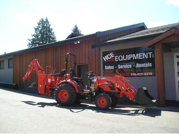 25 HP TRACTOR LOADER BACKHOE