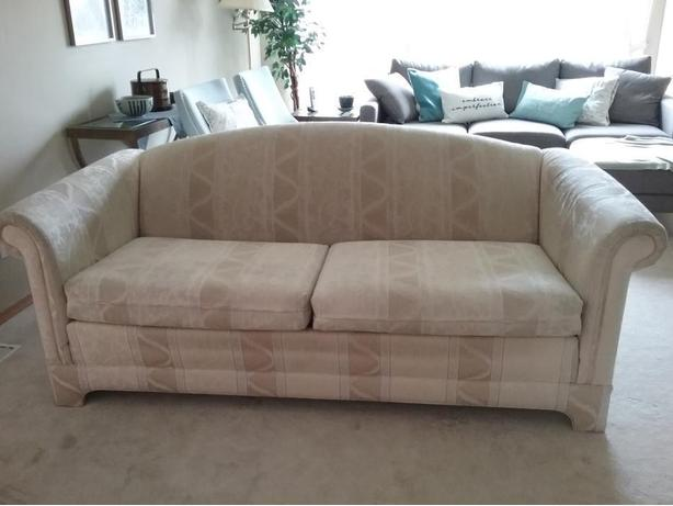 Beige Two Seat Sofa Available for Sale