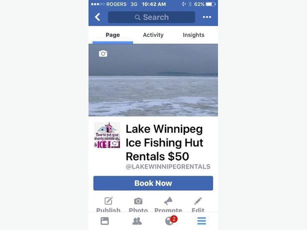 Lake Winnipeg Ice Fishing HUT Rentals $50