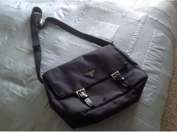 Prada Messenger Bag.
