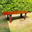 8 foot reclaimed wood table