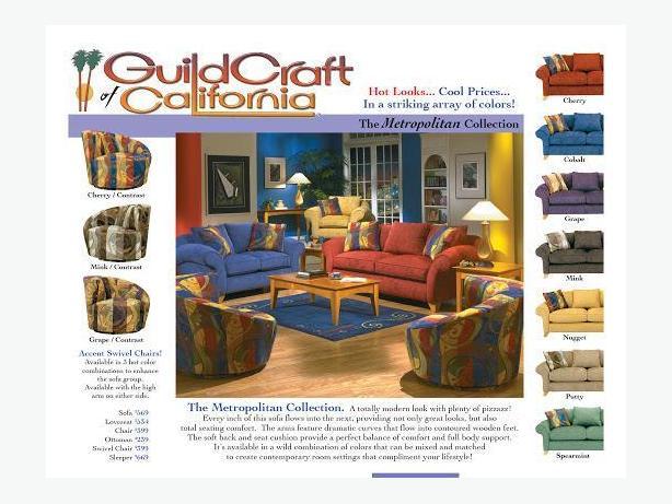 Guildcraft love seat