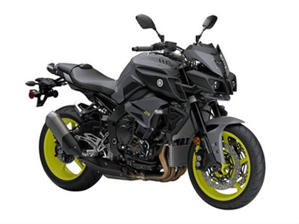 2017 Yamaha FZ-10 Dark Metallic Grey ABS