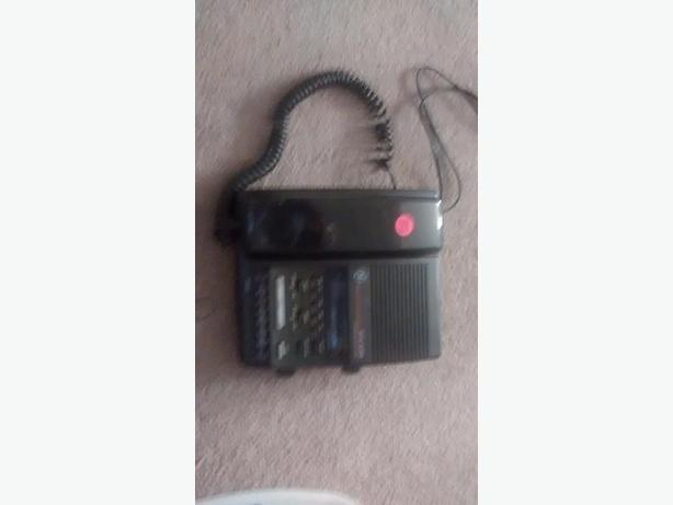 phone radio,dual alarm, it works
