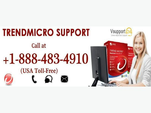 Reach us @ 1-888-483-4910 for Trend Micro Tech Support Services