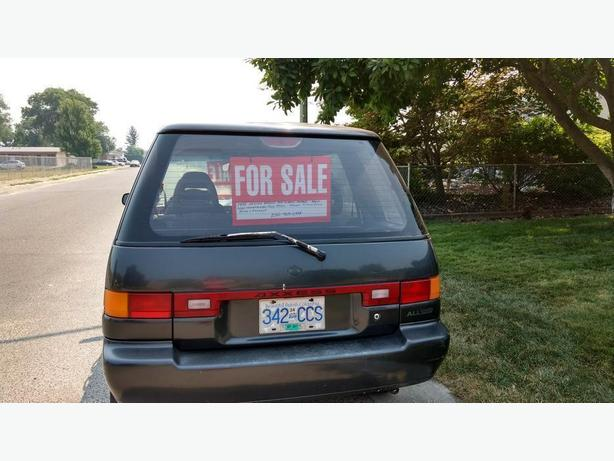 1992 Nissan Axxess all wheel drive