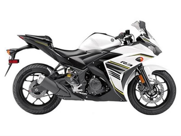 2017 Yamaha YZF-R3 ABS Metallic White
