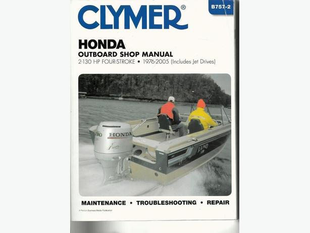 HONDA Outboard Shop Manual Saanich, Victoria