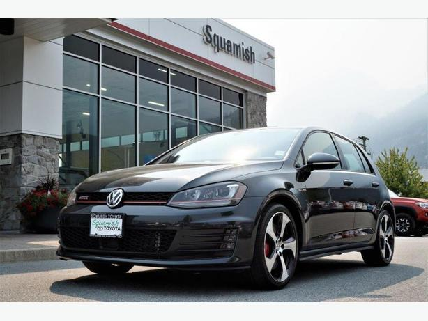 2015 VW GTI Performance Package 6-Speed with 32,000 kilometres