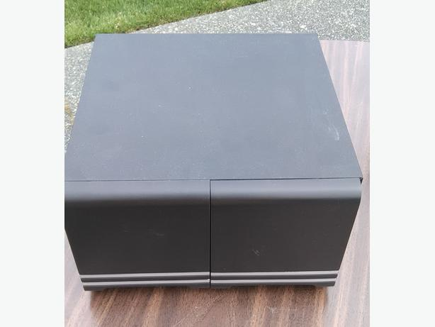 CD Holder with drawers