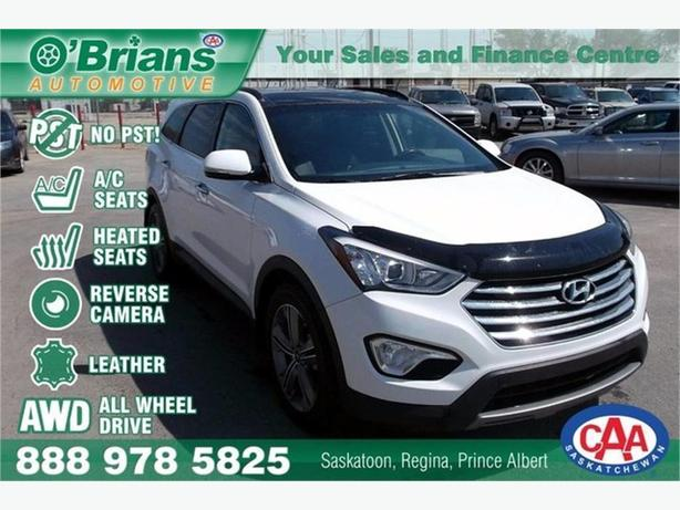 2013 Hyundai Santa Fe Limited - No PST! w/Leather, AWD