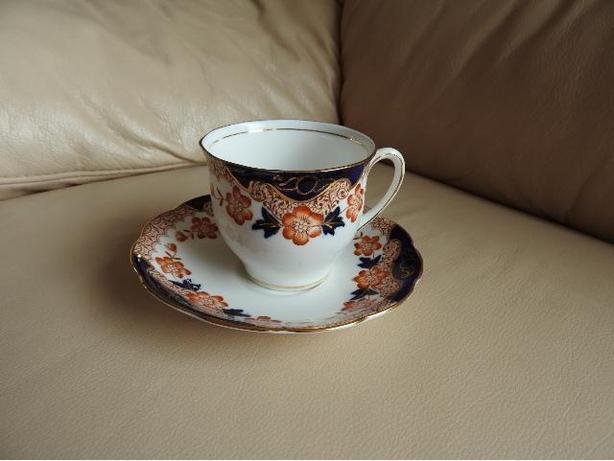 Teacup/Saucer - Blue-Gold china