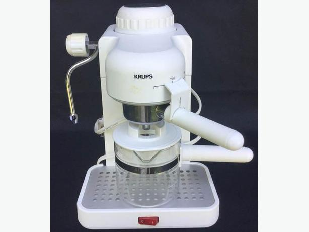 Krupp White Espresso machine --FIRM---