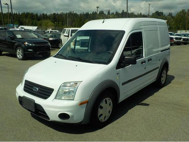 2010 Ford Transit Connect Cargo Van XLT with Side and Rear Door Glass and Rear S
