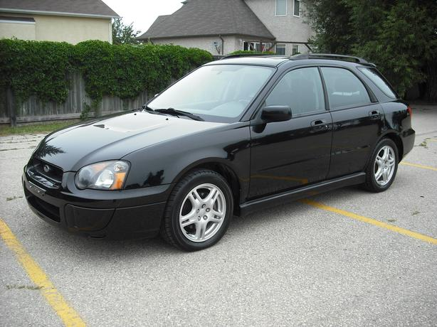 Black Subaru Impreza with Sunroof and lots more!