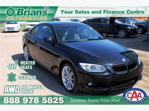 2011 BMW 3 Series 335i xDrive - No PST! w/AWD, Leather