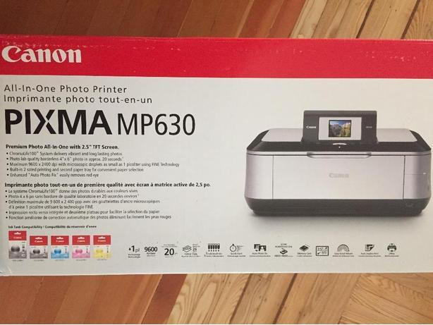 MP630 Canon inkjet Colour Printer/Scanner/Copier