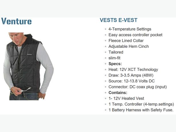 Blow-Out Prices on Electric Vests
