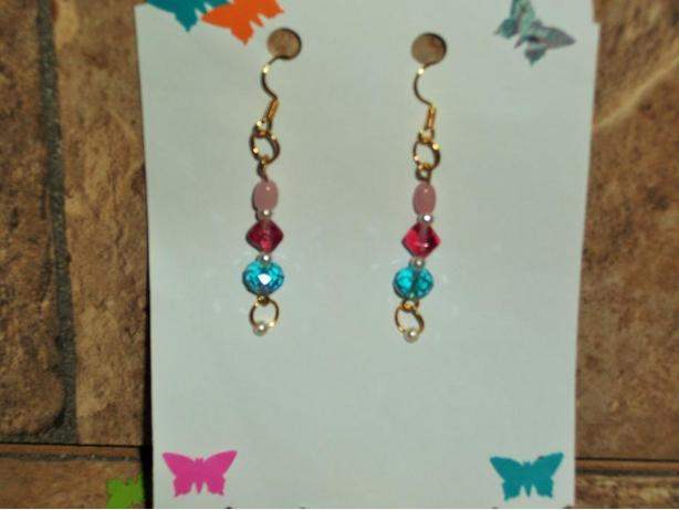 Beaded, Dangle Earrings