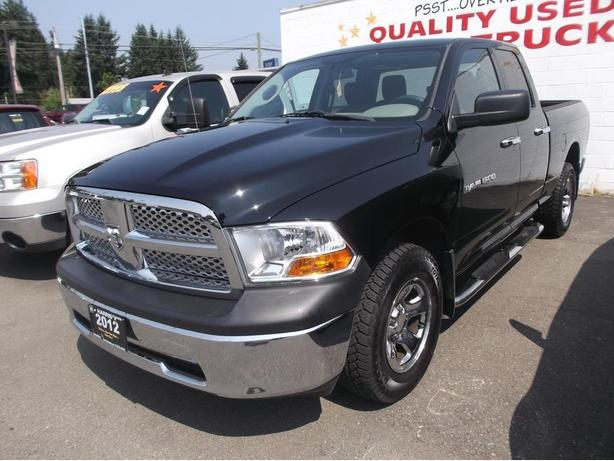 2012 DODGE RAM QUAD CAB 4X4 FOR SALE