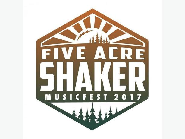 Pair of 5 Acre Shaker Weekend Passes