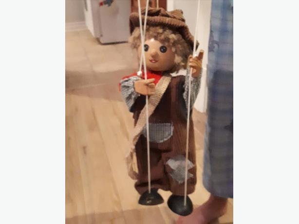 Vintage Marionette puppets German made