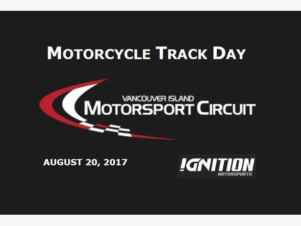 Motorcycle Trackday at Vancouver Island Motorsports Circuit!