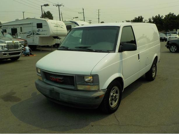 2004 GMC Safari Cargo Van w/ Shelving