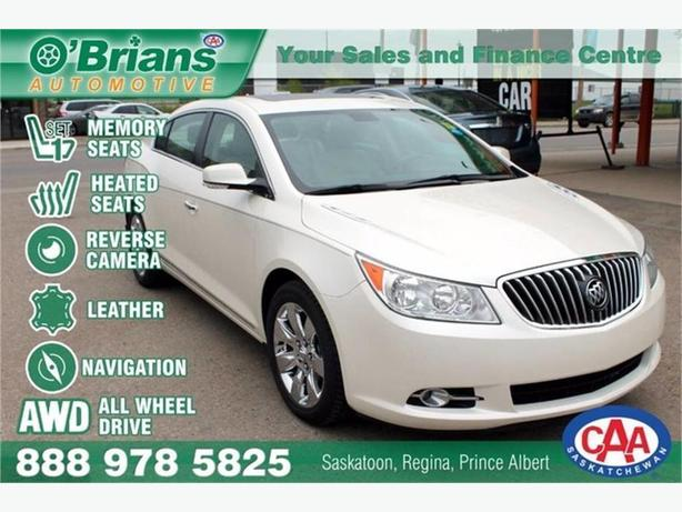2013 Buick LaCrosse Luxury w/Leather, Nav