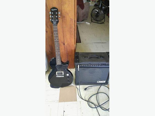 Epiphone and crate gx 65 amp asking