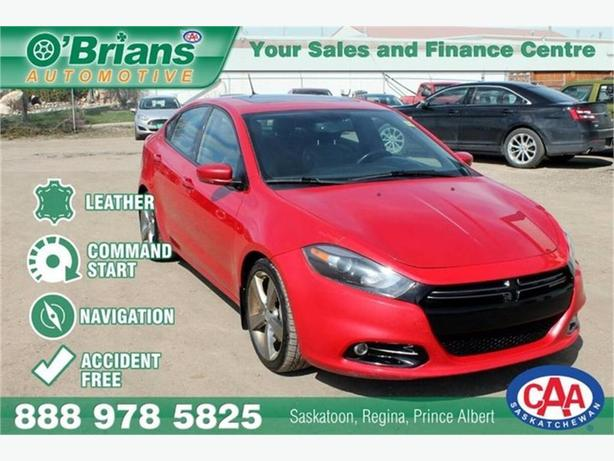 2013 Dodge Dart R/T - Accident Free! w/Leather, Nav