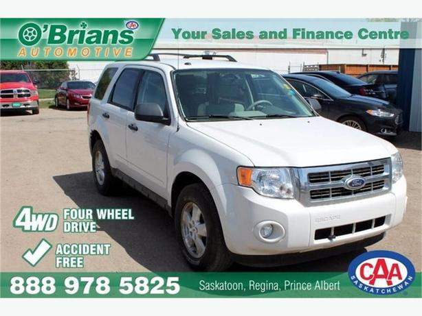 2010 Ford Escape XLT - Accident Free! w/4WD