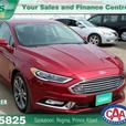 2017 Ford Fusion Titanium w/Mfg Warranty, NAV, Leather