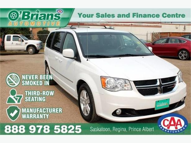 2016 Dodge Grand Caravan Crew w/Mfg Warranty