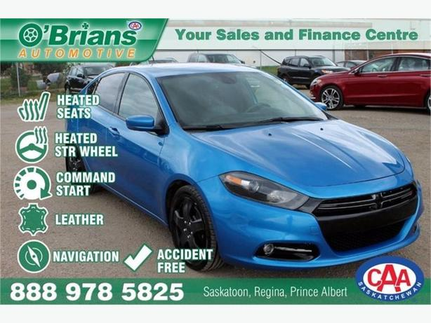 2015 Dodge Dart GT - Accident Free w/Leather, Nav, Cmd Start