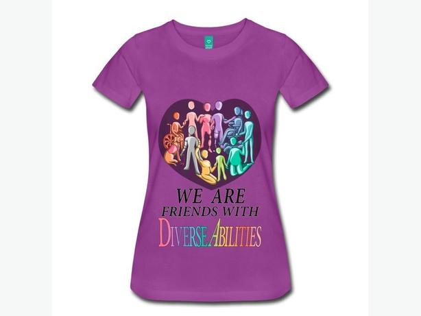 We are Friends with DiverseAbilities - T-Shirts, Hoodies and more