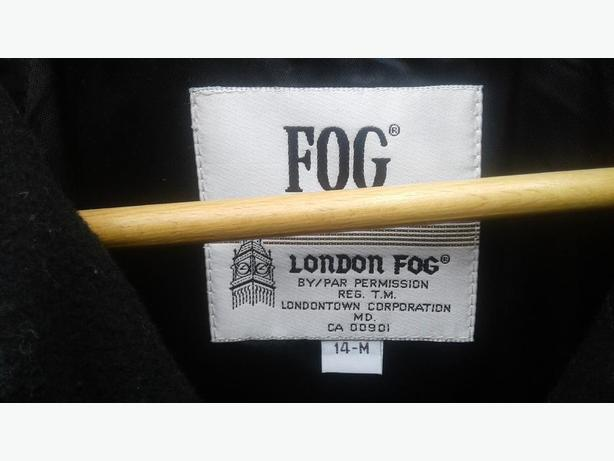 London Fog Full Length Coat Size 14