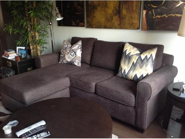 Urban Barn chaise sofa