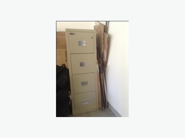 4 Drawer Turtle Fire Safe File Cabinet by FireKing
